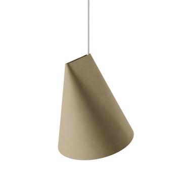 Lampa wisząca ceramiczna CERAMIC PENDANT WIDE 23,5x23 OLIVE