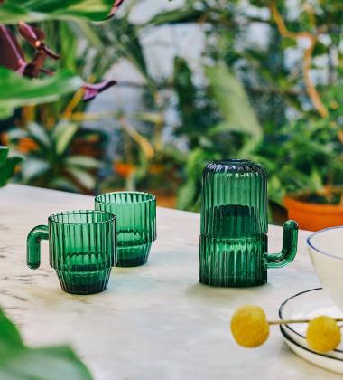 Komplet szklanek SAGUARO Glasses Set 4 Kaktus