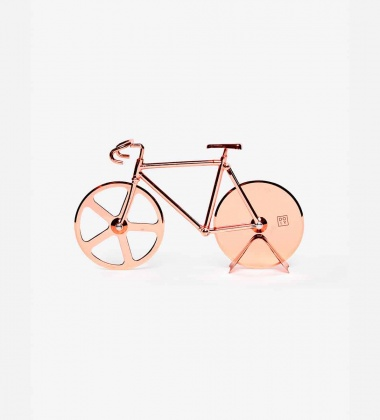 Nóż do pizzy THE FIXIE BIKE 22,5x13 Copper