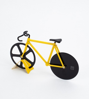 Nóż do pizzy THE FIXIE BIKE 22,5x13 Bumblebee