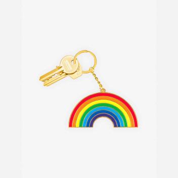 Brelok OVERSIZED Keychain 11,8x15 RAINBOW