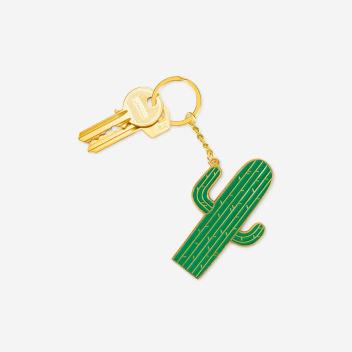 Brelok OVERSIZED Keychain 11,8x15 CACTUS