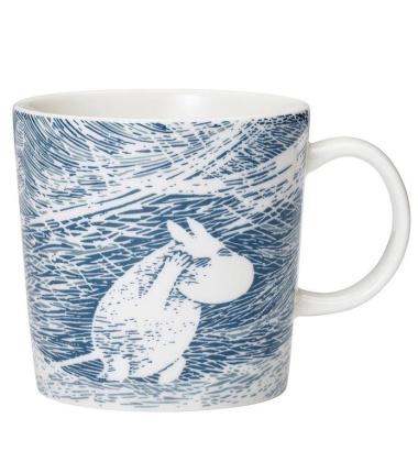 Kubek muminki 300 ml Moomin SNOW BLIZZARD Winter Mug 2020 Limited Edition