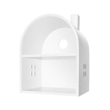 Drewniany Domek Dla Lalek Biały MDF