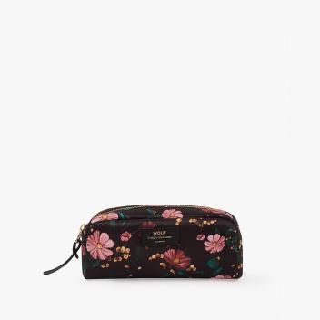 Kosmetyczka Small Beauty Case BLACK FLOWERS