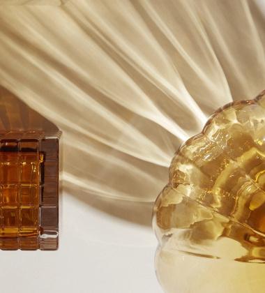 Wazon BALLOON VASE 02 H20 cm Bursztynowy