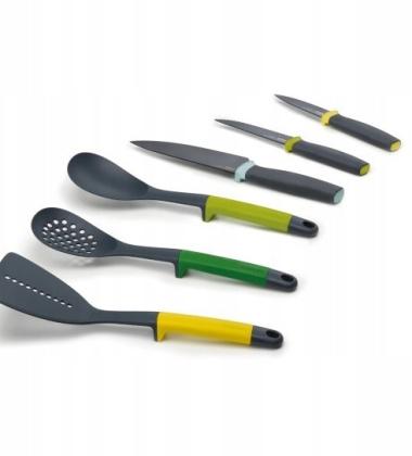 Zestaw prezentowy narzędzi i noży kuchennych ELEVATE Set 6 by Joseph Joseph