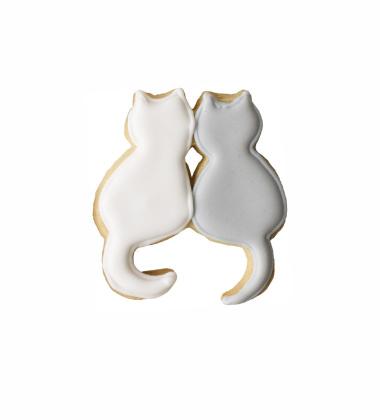 Foremka do wykrawania ciastek PARA KOTKÓW by Birkmann