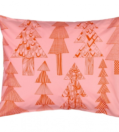 Poszewka na poduszkę KUUSIKOSSA 50x60 Red-Pink by Marimekko