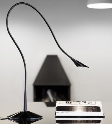 Lampa biurkowa ściemniana NOSY Czarna
