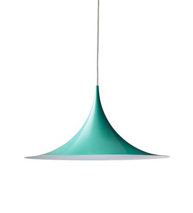 Lampa wisząca Semi 30 cm Miętowa Połysk