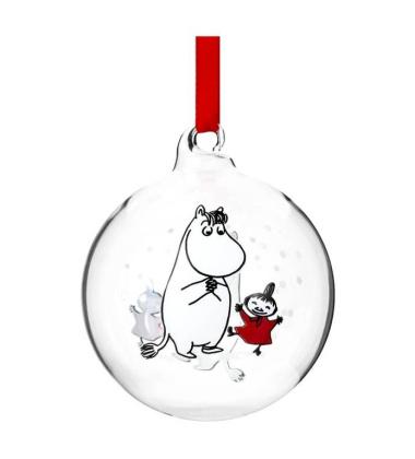 Bombka szklana muminki 7 cm SNORKMAIDEN Moomin Ball