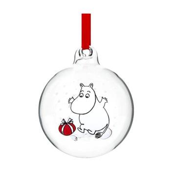 Bombka szklana muminki 7 cm MOOMINTROLL Moomin Ball
