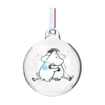 Bombka szklana muminki 7 cm FRIENDSHIP Moomin Ball