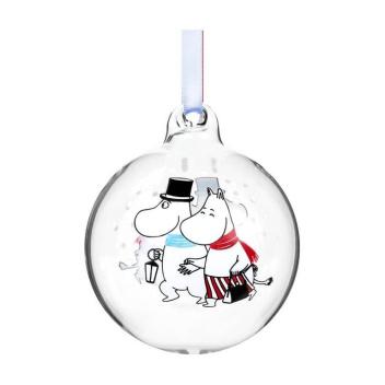 Bombka szklana muminki 7 cm EVENING WALK Moomin Ball