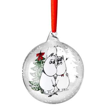 Bombka szklana muminki 9 cm WINTER MAGIC Moomin Ball