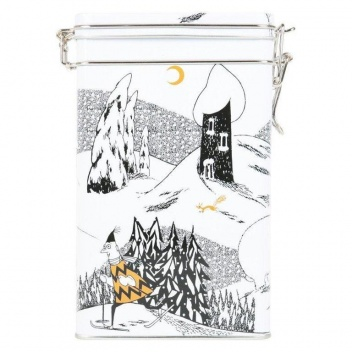 Puszka metalowa MOOMINVALLEY WINTER COFFEE JAR 8x15x20 cm by Martinex