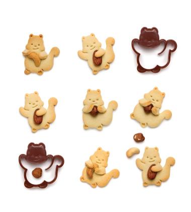 Foremka do wykrawania ciastek NUTTER by Monkey Business