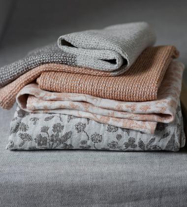 Ręcznik Terva 48x70 Biało-Multi-Rdzawy