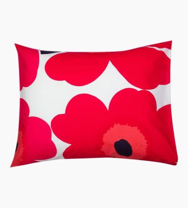 Poszewka na poduszkę UNIKKO Classic 50x60 Red-White by Marimekko