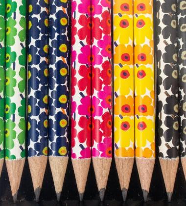 Ołówek HB UNIKKO by Marimekko 5 colurs