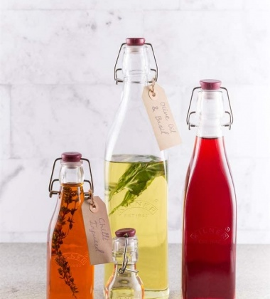 Butelka szklana z klipsem 0,25L Clip Top Bottles by Kilner