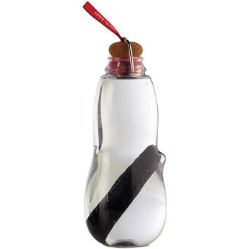 Butelka na wodę z filtrem z węgla białego EAU GOOD 800 ml Czerwona