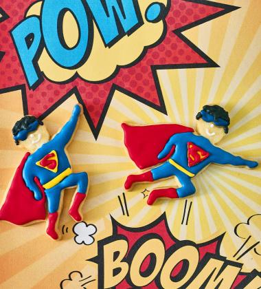 Foremka do wykrawania ciastek SUPERMAN by Birkmann