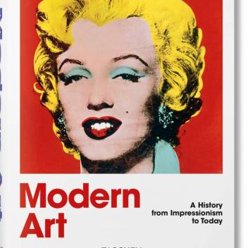 Książka MODERN ART A History from Impressionism to Today