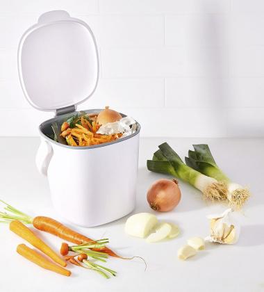 Kompostownik kuchenny 2,83 L GOOD GRIPS Biały by OXO