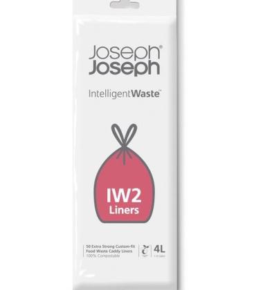 Worki 100% biodegradowalne do kompostownika 50szt. IINTELLIGENT WASTE by Joseph Joseph
