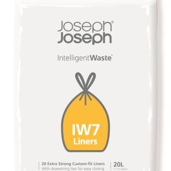 Worki 100% biodegradowalne 20szt. IINTELLIGENT WASTE 20 L by Joseph Joseph