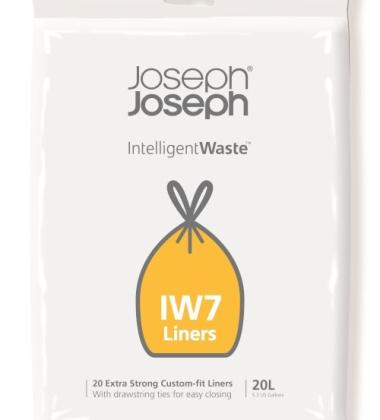 Worki 100% biodegradowalne 20szt. INTELLIGENT WASTE 20 L by Joseph Joseph