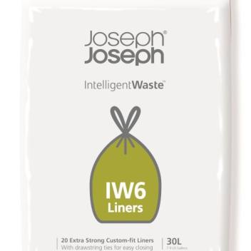 Worki 100% biodegradowalne 20szt. IINTELLIGENT WASTE 30 L by Joseph Joseph