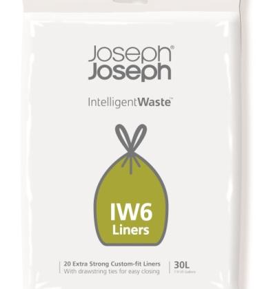 Worki 100% biodegradowalne 20szt. INTELLIGENT WASTE 30 L by Joseph Joseph