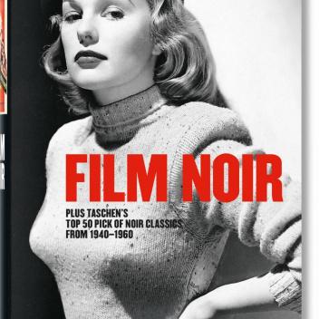 Książka FILM NOIR Top 50 Noir Classic from 1940-1960