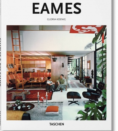 Książka EAMES Career of Charles and Ray Eames