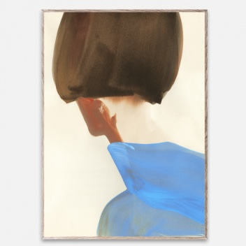 Poster 50x70 THE BLUE CAPE by Amelie Hegardt