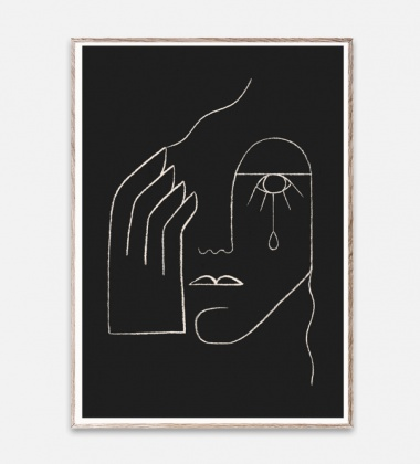 Poster 50x70 SINGLE TEAR by Kit Agar