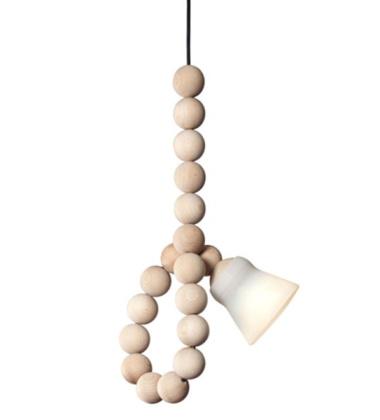 Lampa wisząca Earl Beech Wood Buk