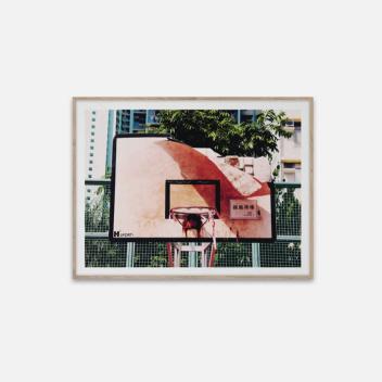 Poster 30x40 Cities of Basketball 06 Hong Kong by Kasper Nyman