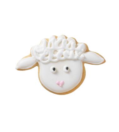 Foremka do wykrawania ciastek GŁOWA BARANKA 2 by Birkmann