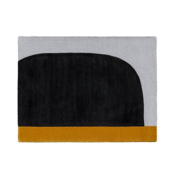Dywan wełniany 103x130 FH OCHRE RUG by Cecilie Manz