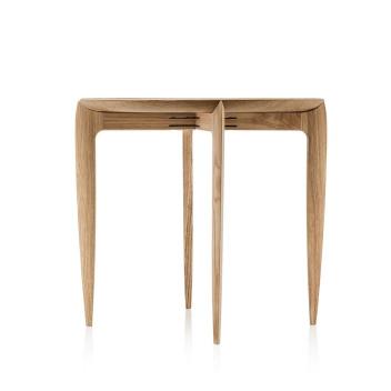 Stolik drewniany z tacą 45xH42 FH TRAY TABLE Oiled Oak