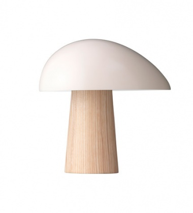 Lampa stołowa NIGHT OWL™ Smokey White - Ash