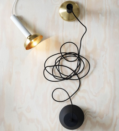 Lampa wisząca BLEND PENDANT Black-Brass