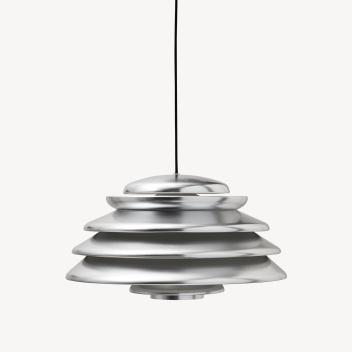 Lampa wisząca HIVE 48 cm Aluminium Srebro