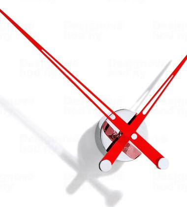 Zegar ścienny Axioma I 60 cm RED