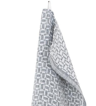 Ścierka kuchenna MAUSTE 48x70 cm White-Grey