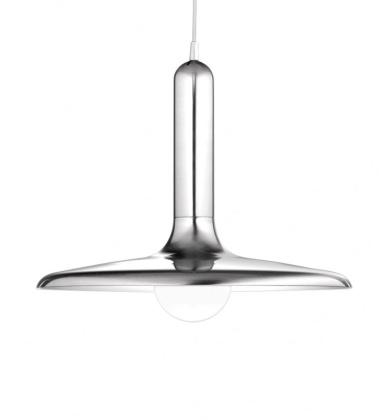 Lampa wisząca Luck 50 cm T-2444 Nikiel